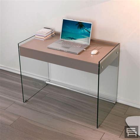 scrivanie low cost consolle in vetro scrivania mydesk