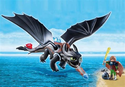 how to trained playmobil set 9246 hiccup toothless klickypedia