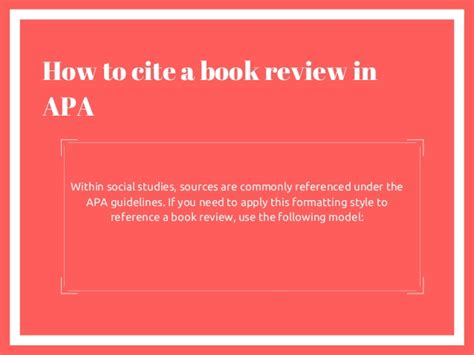 Collection of how to cite a book summary apa style gallery how to how to cite a book review ccuart