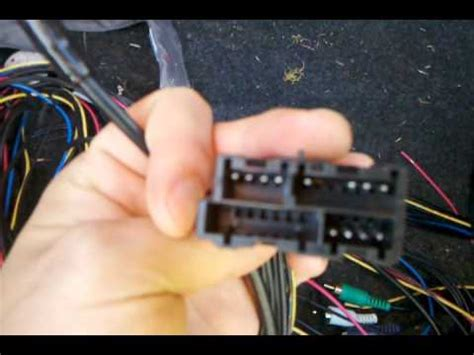 cadillac deville active stereo bypass harness youtube