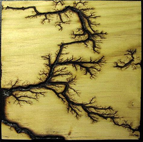 lightning pattern on wood etched lightning tm captured in wood branching high