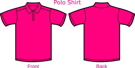 Vector Baju T Shirt baju pink genetics clip at clker vector clip royalty free domain