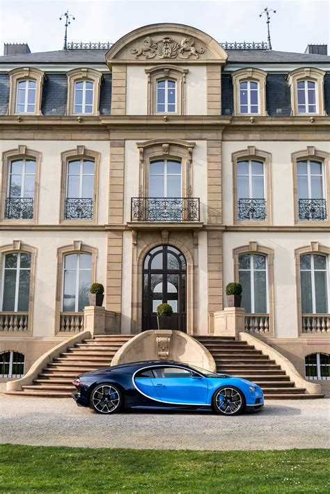 Mobile HD Wallpapers   BUGATTI CHIRON BLUE LUXURY HOUSE