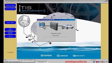 Toyota Techstream Toyota Techstream программа для диагностики автомобилей