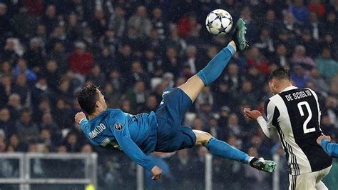 ronaldo juventus overhead goal cristiano ronaldo admits quot spectacular quot overhead kick against juventus is best goal of his career