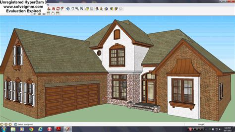 make a dream house sketchup house 7 my dream home youtube