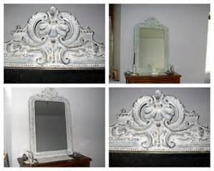 miroir ancien relook 233 deux pour la d 233 co et le tricot