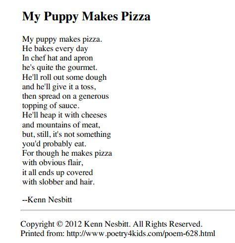 kenn nesbitt s website is full of hilarious poems that the