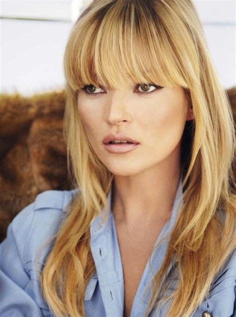 Kate Moss Gets A Fringe Will You Be Next Tips On Choosing The Style Fringe by 96 Best Images About Hair Into Your 40s On