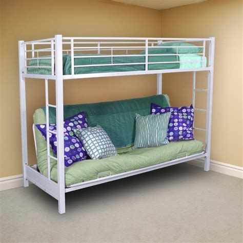 twin bunk bed over futon sofa twin bunk bed over futon sofa contemporary bunk beds