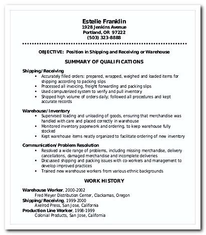 cover letters for resumes free everything you need to writing warehouse worker cover letter for your