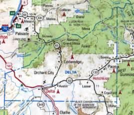 delta county colorado map delta county cogenweb home page