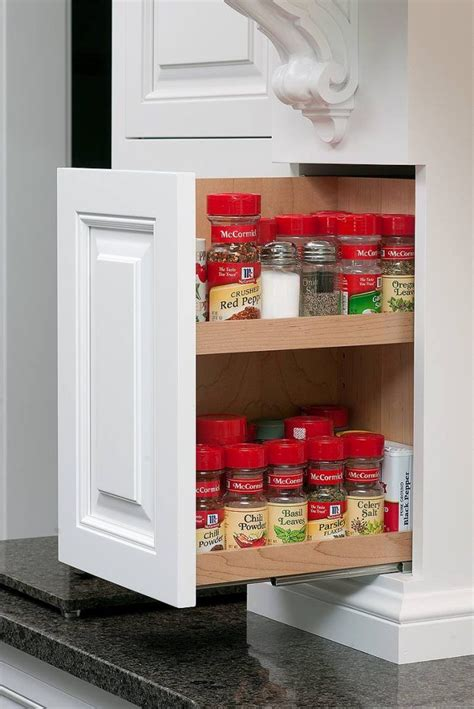 Kitchen Spice Rack Ideas 17 Best Ideas About Kitchen Spice Storage On Spice Storage Spice Drawer And Kitchen