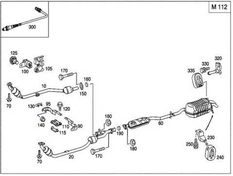 Mercedes Exhaust System Parts Mercedes Exhaust System Diagram Mercedes Free Engine
