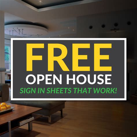 printable open house sign open house sign in sheet printable templates free ready