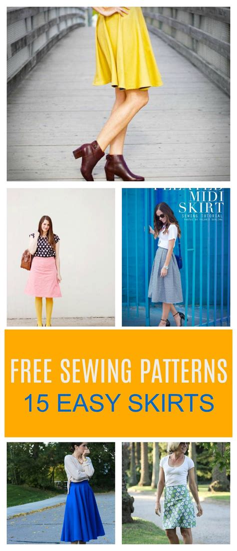 free sewing patterns and tutorials on the cutting floor roundup 15 easy free skirt patterns on the cutting