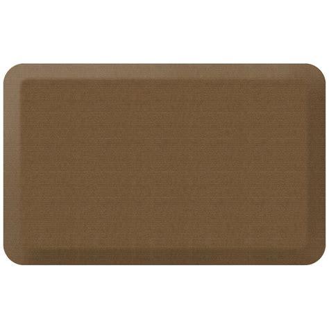 newlife comfort mat newlife designer grasscloth khaki 20 in x 32 in anti