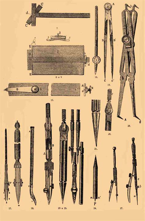 5 Drawing Instruments And Their Uses by сурет Technical Drawing Instruments 2 Jpg уикипедия