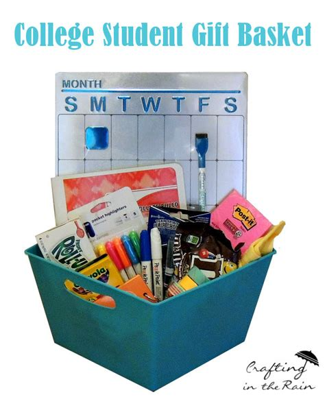 craftaholics anonymous 174 college student gift basket - Gift Card Ideas For College Students