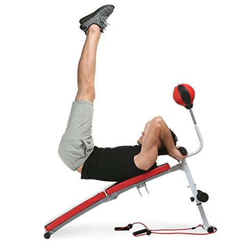 sit up bench workouts with weights ancheer abdominal adjustable sit up bench decline weight