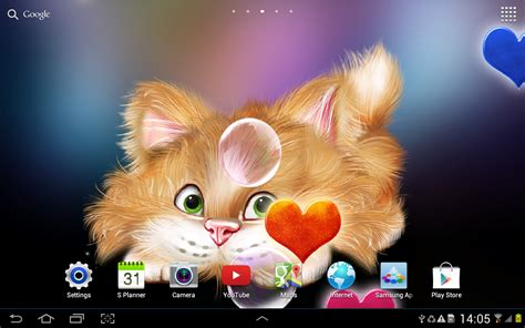 cat live wallpaper apk cat live wallpaper 1 0 3 apk android personalization apps