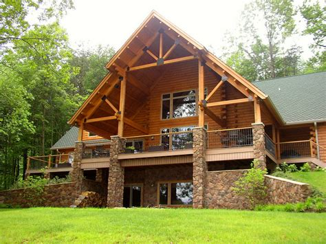 new log cabin homes allegiance log and timber frame homes northeastern 432920