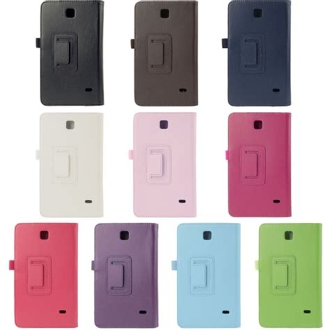 Flip Cover Tab 3d Gambar 6 8 7 litchi texture flip leather with holder for samsung