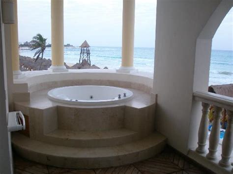 atlanta hotels with tubs in room view from our room 7101 picture of iberostar grand hotel paraiso playa paraiso tripadvisor