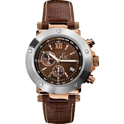 Gc Cronograph Leather gents gc gc 1 sport chronograph i45003g1