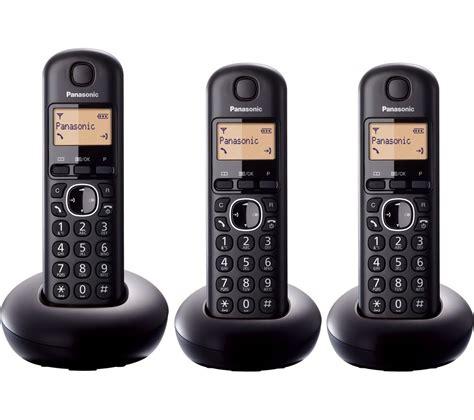 mobile phone handsets panasonic kx tgb213eb cordless phone handsets
