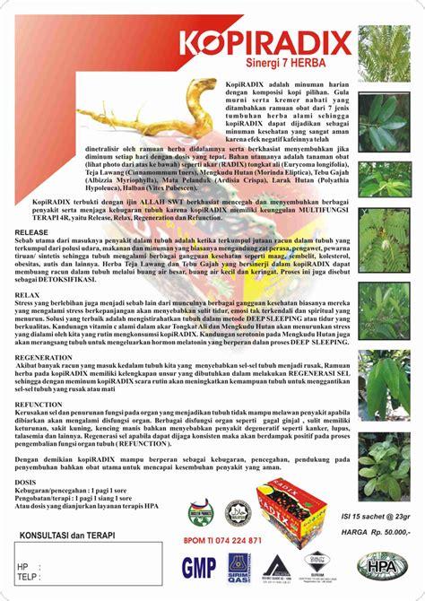 Kopi Radix Asli Malaysia Papan Isi 20 Sachet radix coffee just another weblog