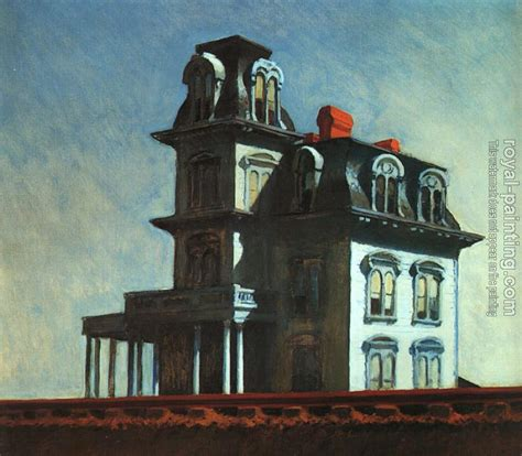 house by the railroad house by the railroad by edward hopper oil painting reproduction
