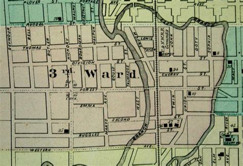 chicago 3rd ward map fond du lac county wisconsin history 1878