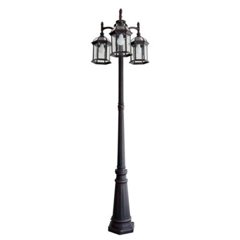 innova lighting 3 led l post innova lighting led 3 light outdoor l post beauty and