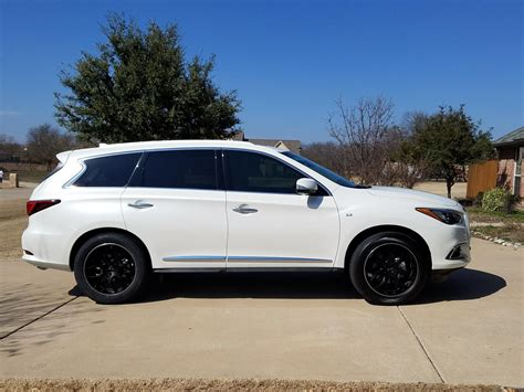 infiniti qx60 rims 2017 qx60 majestic white with gianelle puerto wheels
