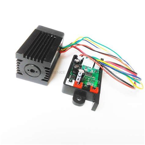 ttl laser diode focusable 200mw 532nm green diode laser module with ttl laser diode driver