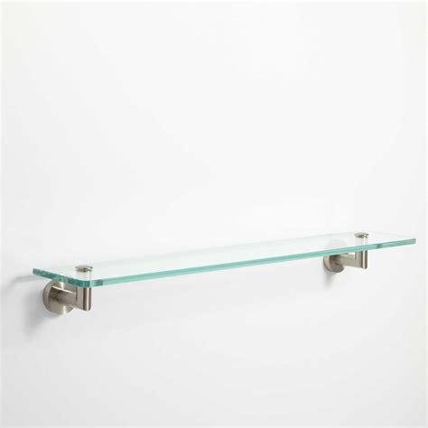 bristow tempered glass shelf bathroom