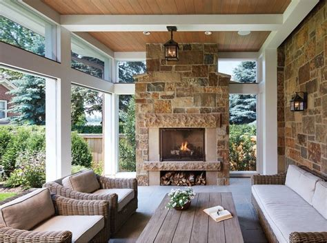 fireplace on screened porch best 20 porch fireplace ideas on fireplace on