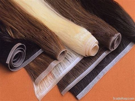 china skin weft extensions s056 china skin weft seamless hair extension 100