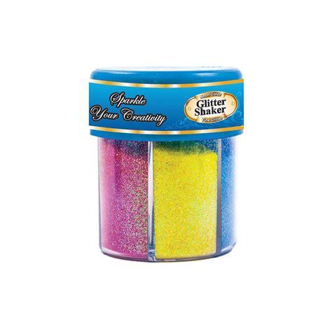 Glitter Glue Bazic Lem Glitter 72 units of bazic 80g 2 82 oz 6 neon color glitter shaker w pdq at alltimetrading