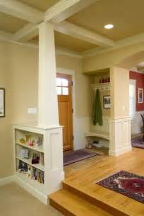 craftsman home interior bungalow entry