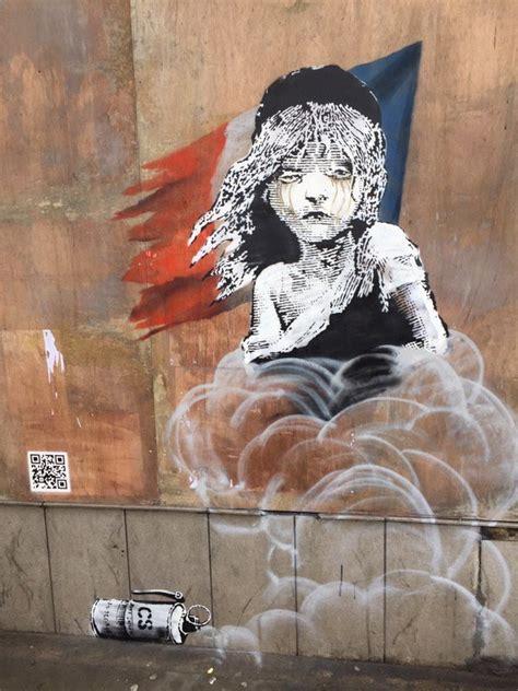 banksy condamnation de letat francais depuis londres