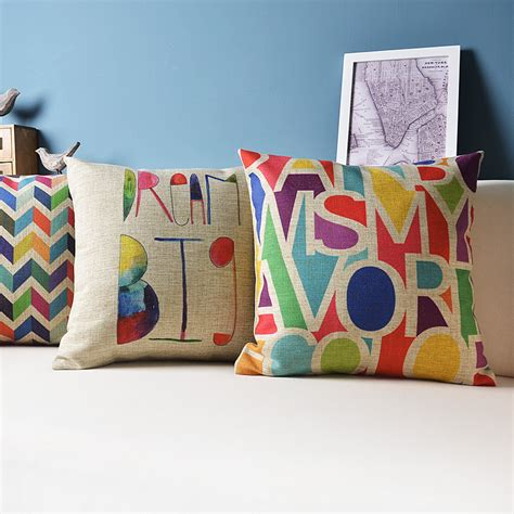 colorful sofa pillows aliexpress com buy ikea sofa decorative cushion throw