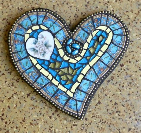 mosaic heart pattern 17 best ideas about blue china on pinterest vintage