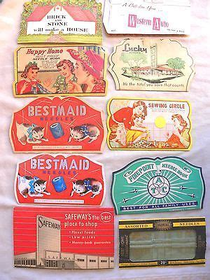 Gift Card Machine At Safeway - vintage lot of sewing needle books safeway lucky western auto davis and ruben