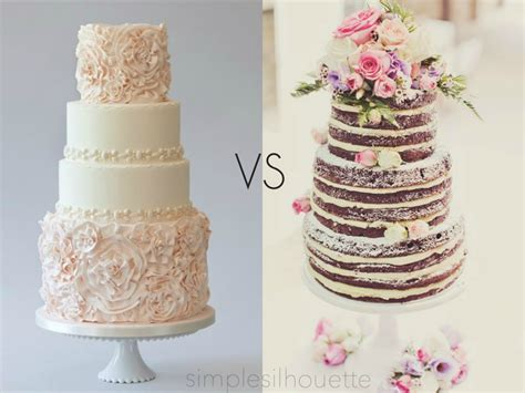 New Wedding Cake by Simple Silhouette Wedding Cakes New Trend