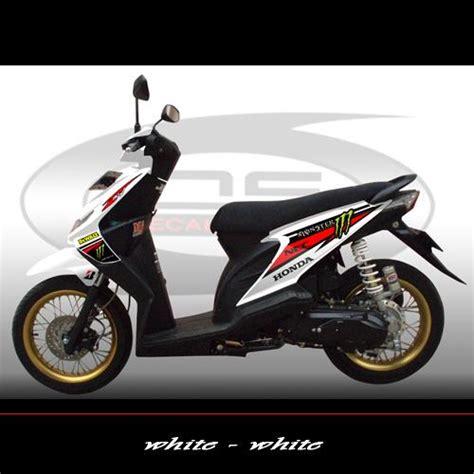 Sticker Striping Motor Honda Spacy 2011 2012 sticker variasi untuk beat gambar sticker honda beat