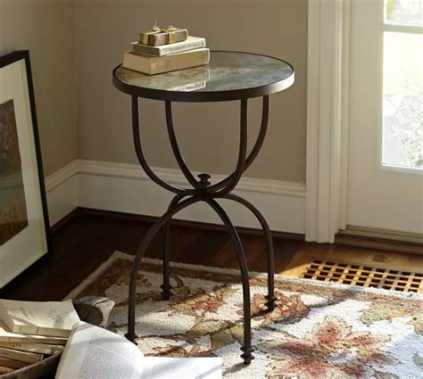 pottery barn accent tables willow accent side table pottery barn