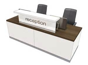 Two Person Reception Desk Classic Reception Desk 2