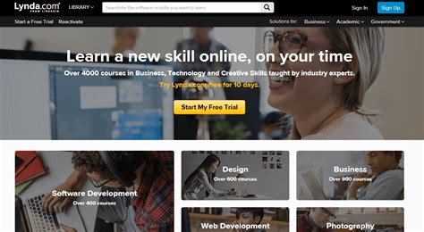 website tutorial lynda 29 training resources to jump start your web design